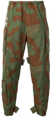 Off-White camouflage cargo trousers