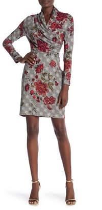 Amelia Red Rose Dress