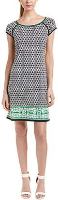 Max Studio Women's Print Cap Sleeve Dress