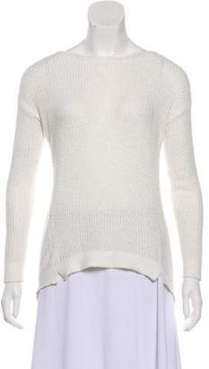 Alice + Olivia Long Sleeves Crew Neck Top