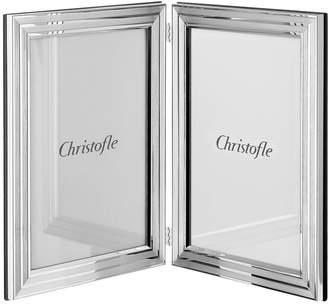 "Christofle Filets Double Photo Frame (6"" x 4"")"