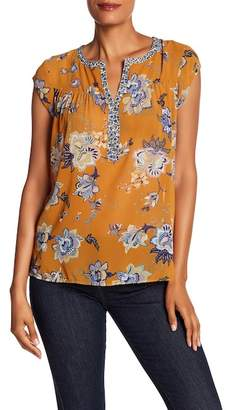 Daniel Rainn DR2 by Mixed Print Hi-Lo Tunic