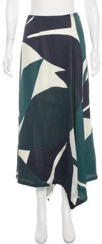 Marni Paneled Maxi Skirt w/ Tags