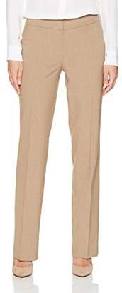 Nine West Women's Solid Trouser Pant