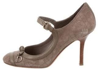 Christian Dior Cannage Mary Jane Pumps