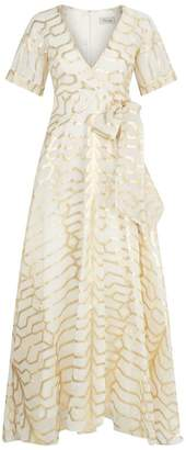 Temperley London Tapis Printed Gown
