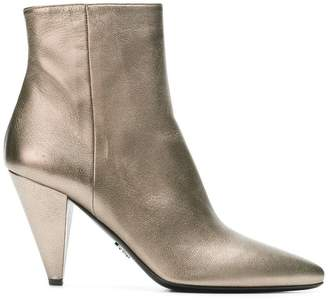 Prada pointed-toe ankle boots