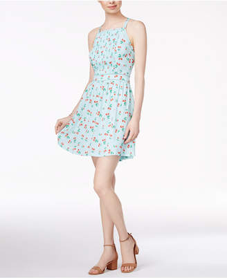 Maison Jules Cherry-Print Fit & Flare Dress, Created for Macy's $79.50 thestylecure.com