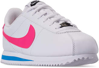 Nike Little Girls Cortez Basic Sl Casual Sneakers from Finish Line