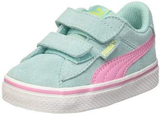 d5ce9ed22c9 Puma Kids 1948 Vulc V Inf Low-Top Sneakers Aruba Blue-Prism Pink 10