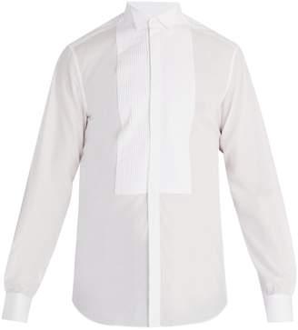 Valentino Wingtip-collar single-cuff cotton shirt