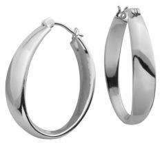 Lord & Taylor Sculpted Hoop Earrings