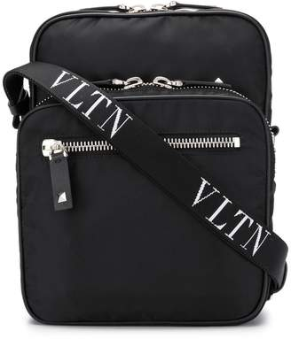 Valentino logo strap messenger bag