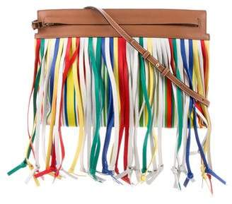 Loewe Fringe-Trimmed Crossbody Bag