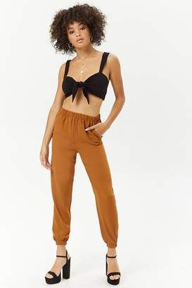 Forever 21 High-Waist Joggers