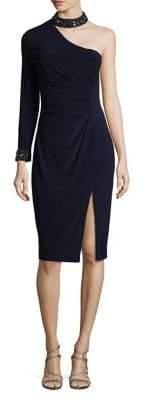 Xscape Evenings Embellished Knee-Length Dress