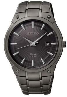 Seiko Stainless Steel Solar Bracelet Watch