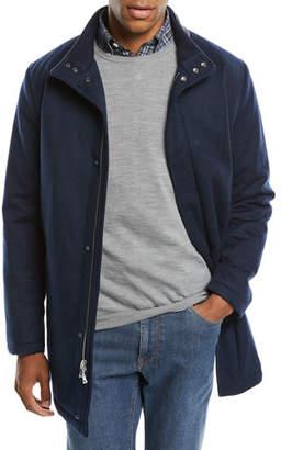 Peter Millar Men's New Horizon Cashmere Overcoat