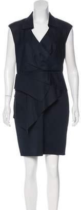 Leifsdottir Sleeveless Knee-Length Dress