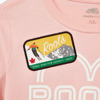 Roots Girls Ski Patch T-shirt