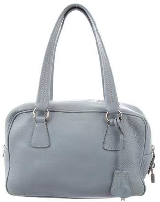 debb970557d9 Pre-Owned at TheRealReal · Prada Vitello Daino Bauletto Bag
