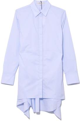Schumacher Dorothee Cool Touch Blouse in Blue Breeze