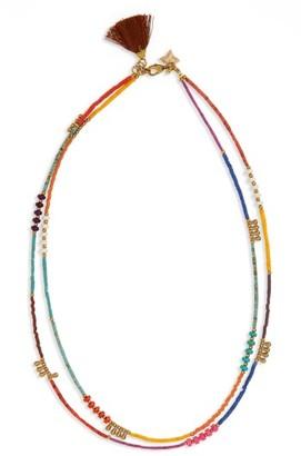Women's Panacea Double Row Tassel Necklace $26 thestylecure.com