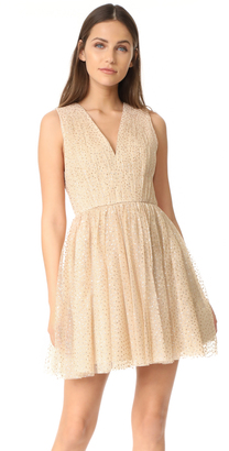 alice + olivia Monica Gathered Party Dress $394 thestylecure.com