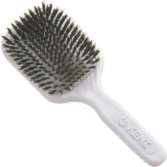 Kent AH13W AirHeadz Medium Pure Bristle Paddle Hair Brush - White