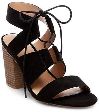 Merona Women's Harriet Lace Up Heeled Quarter Strap Sandals $29.99 thestylecure.com