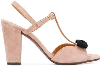 Chie Mihara T-bar bow front sandals