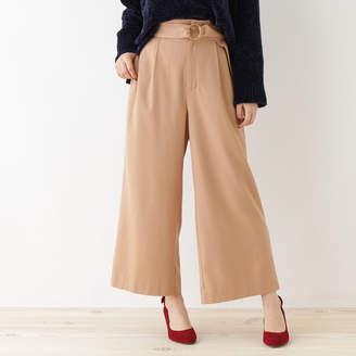 Couture Brooch (クチュール ブローチ) - クチュール ブローチ Couture brooch 【WEB限定サイズ(SS・LL)あり】ワイドパンツ (ベビーピンク)