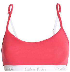 Calvin Klein Printed Stretch-Cotton Jersey Sports Bra