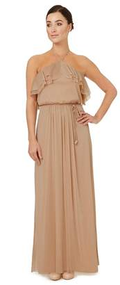 Ariella London - Light Gold 'Cavalier' Bridesmaid Dress