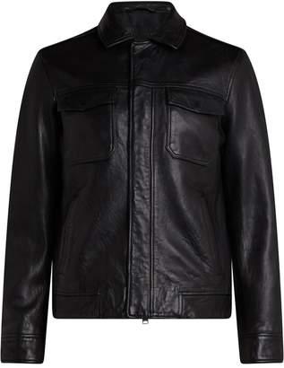 AllSaints Men's Forum Leather Jacket
