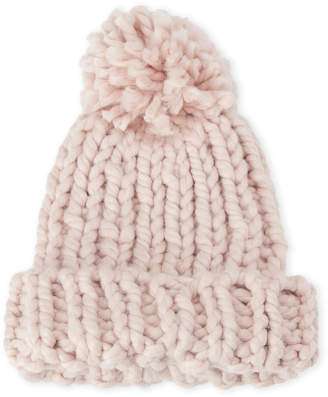 Marcus Collection Adler Knit Chunky Pom-Pom Cuff Hat