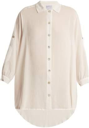 BOWER Mackey woven shirtdress