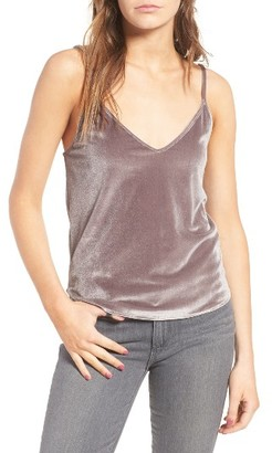 Women's Sincerely Jules Velvet Camisole $80 thestylecure.com