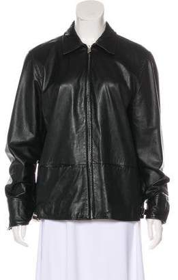 Lauren Ralph Lauren Causal Leather Jacket