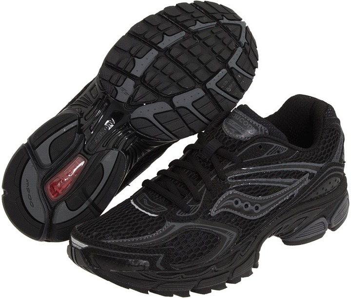 Saucony ProGrid Guide 4 (Black/Grey) - Footwear