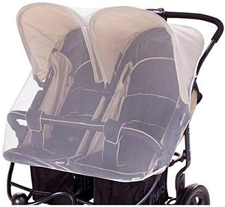 Diago DIAGO Mosquito Net Twin Pushchair (White)