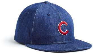 Todd Snyder + New Era + NEW ERA MLB CHICAGO CUBS CAP IN CONE DENIM