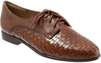 Trotters Tailored Leather Lace-Up Oxfords - Lizzie