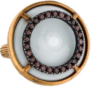 Bottega VenetaBottega Veneta Porcelain Cocktail Ring.