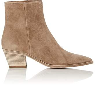 Gianvito Rossi Women's Suede Ankle Boots