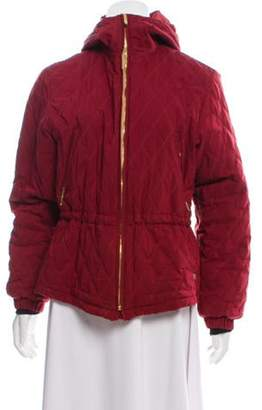 Post Card Quilted Zip-Up Jacket Quilted Zip-Up Jacket