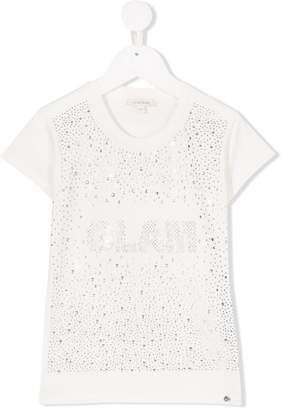 Miss Grant Kids Glam gem embellished T-shirt