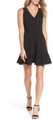 Adelyn Rae Zahara Cutout Fit & Flare Dress