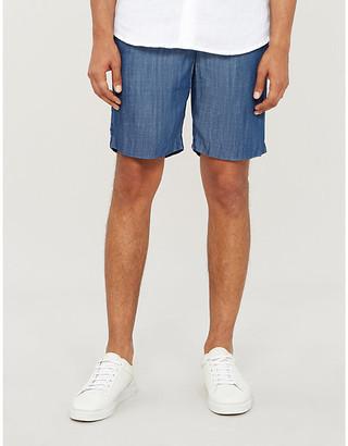 Frescobol Carioca Relaxed-fit tencel shorts