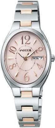 Wicca (ウィッカ) - [シチズン]CITIZEN 腕時計 wicca ウィッカ ソーラーテック KH3-118-93 レディース